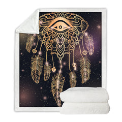 Dreamcatcher Throw Blanket