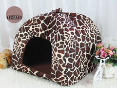 Pet Kennel Cats Puppy Dog Beds Kennels Cute Pattern