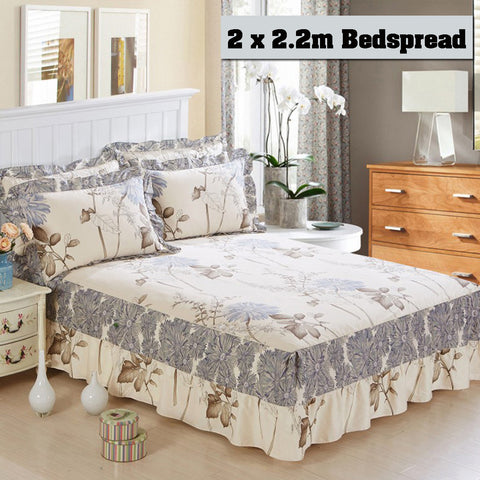 100% Cotton Bed Coverlet