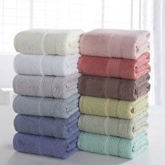100% Cotton Solid Bath Towel