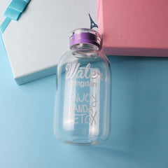 Glass Bottle Portable Large-capacity