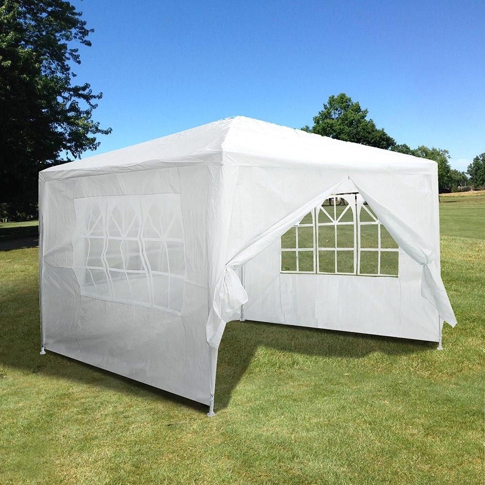 10'x10' Outdoor Canopy Party Tent w/4 Side Walls