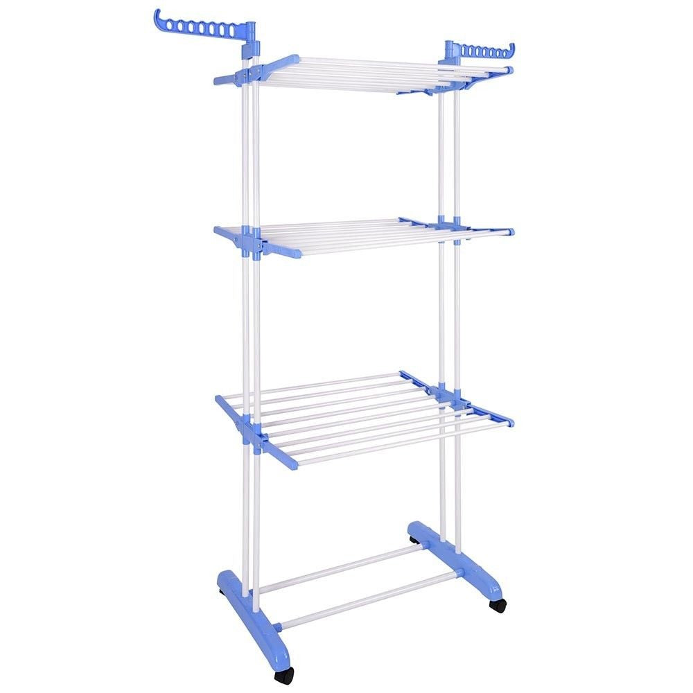 3 Tier Clothes Drying Rack - White