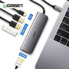 USB Type C to 3.0 HUB HDMI Adapter for MacBook