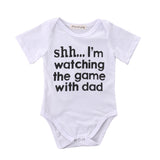 Casual Newborn Infant Baby Girls Boys Clothes Cotton Short Sleeve Letter Print Bodysuit Jumpsuit One pieces Outfit 0-18M
