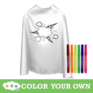 Color Your Own Capes / Tees