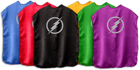 Children's Superhero Cape With Emblem