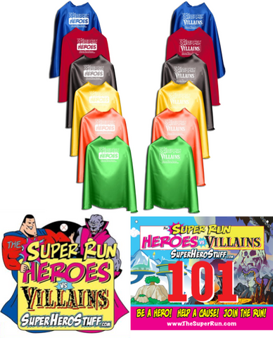The Super Run - Heroes vs. Villains - VIRTUAL