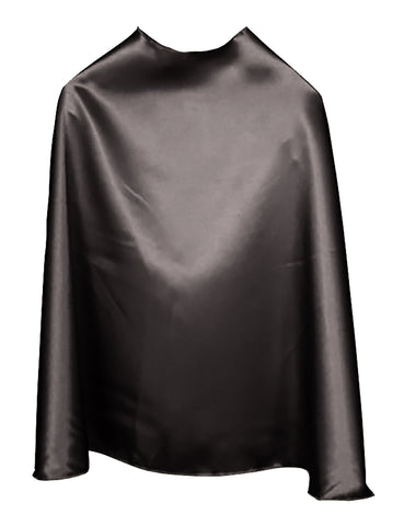 Solid Color Black Superhero Cape