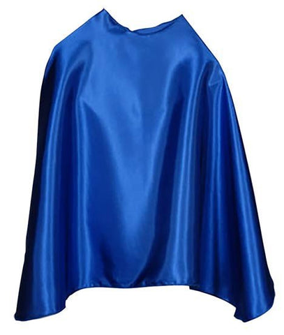 Solid Color Blue Superhero Cape