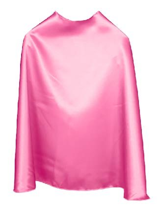 Solid Color Bubblegum Superhero Cape