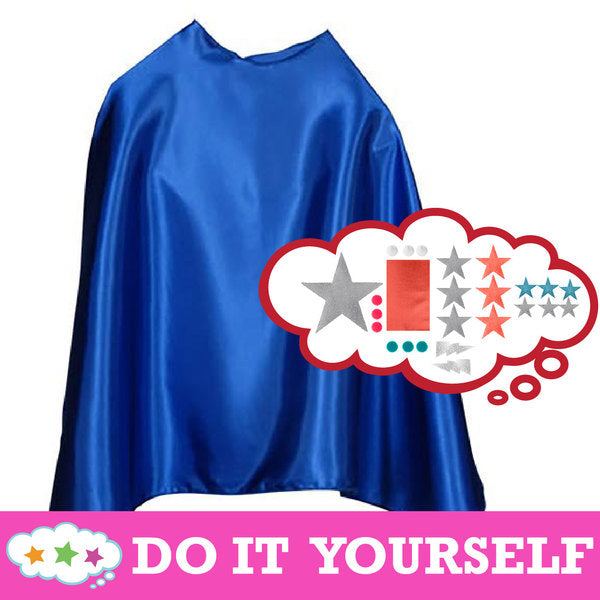 Design Your Own Cape Kit Blue