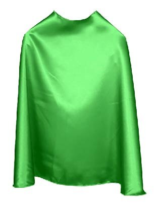 Solid Color Green Superhero Cape