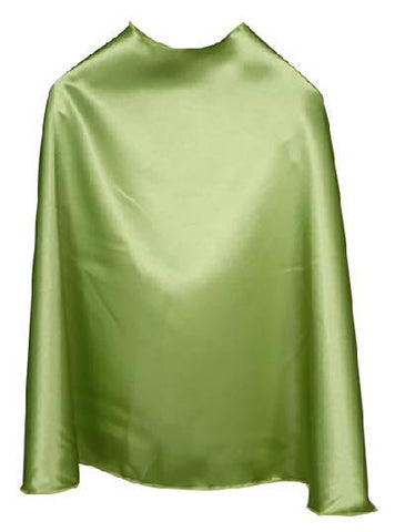 Solid Color Lime Superhero Cape