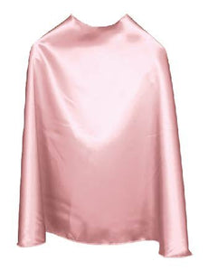 Solid Color Light Pink Superhero Cape