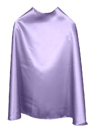 Solid Color Light Purple Superhero Cape