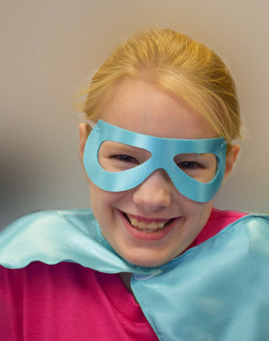 Superhero Mask - Choose Size And Color
