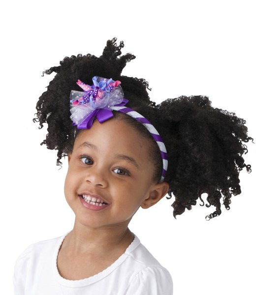 Korker Deluxe Headband Purple Pizzaz
