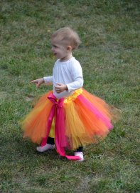 Rainbow Sherbet Princess Tutu