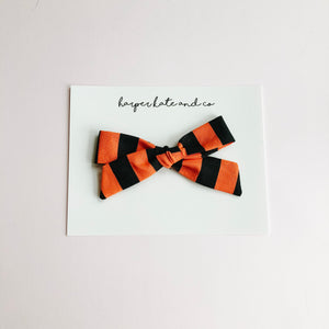 Halloween Stripe • Lucy Bow
