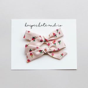 Strawberry Pigtail Set
