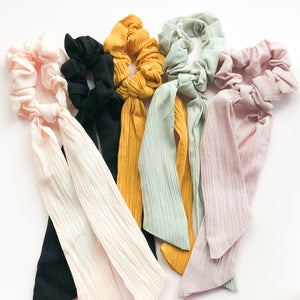 Solid Scrunchies • YOU CHOOSE