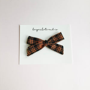 Halloween Plaid • Lucy Bow
