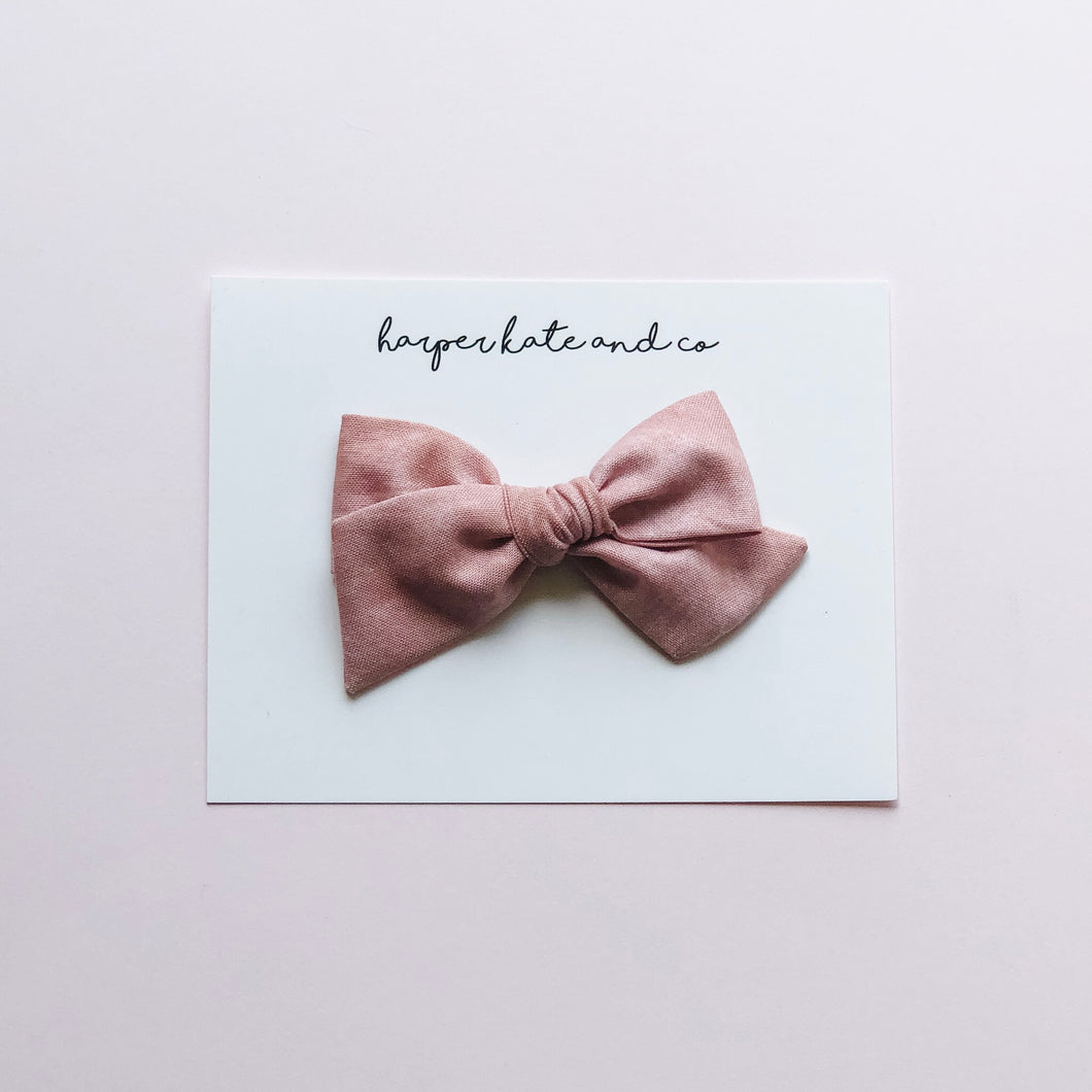 Sunset Blush • Small Hattie Bow