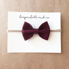 Cranberry Kate Bow