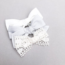 Ivory Lace Hattie Bow