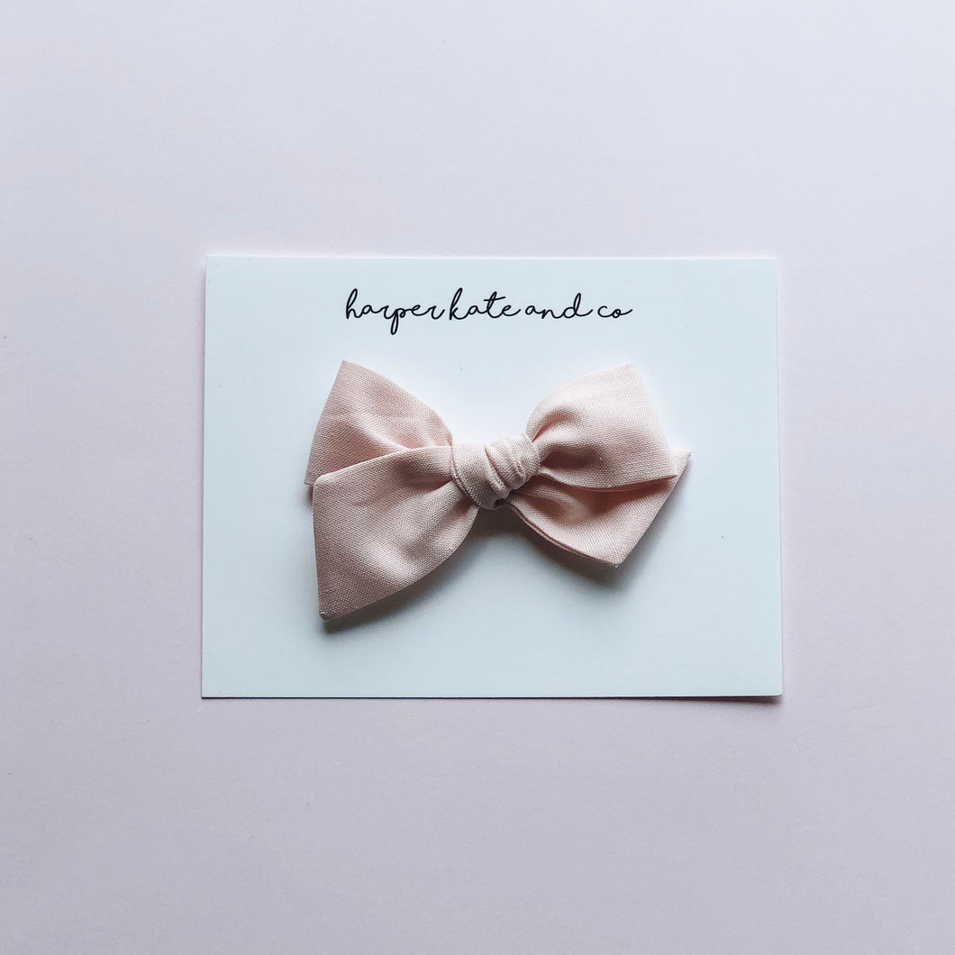Light Pink • Small Hattie Bow