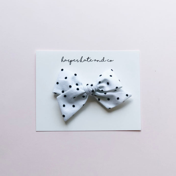 Dots • Small Hattie Bow