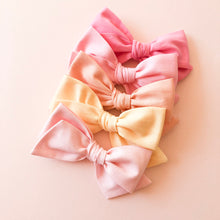 Peach Hattie Bow