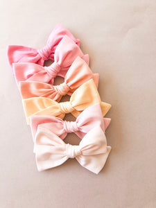 Carnation Pink Hattie Bow