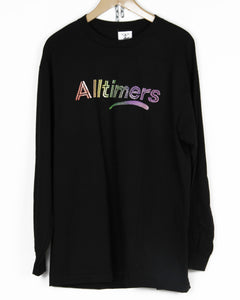 ALLTIMERS RAINBOW WATERCOLOR LONGSLEEVE TEE