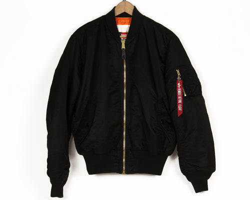 ALPHA INDUSTRIES MA-1 BLOOD HIT BOMBER JACKET