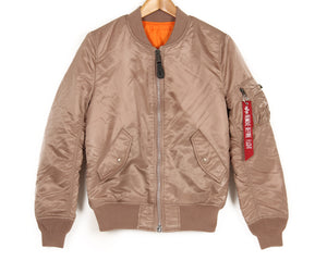 ALPHA INDUSTRIES MA-1 WOMENS JACKET