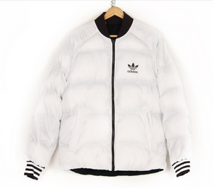 ADIDAS MEN'S REV PUFFER JACKET REVERSIBLE