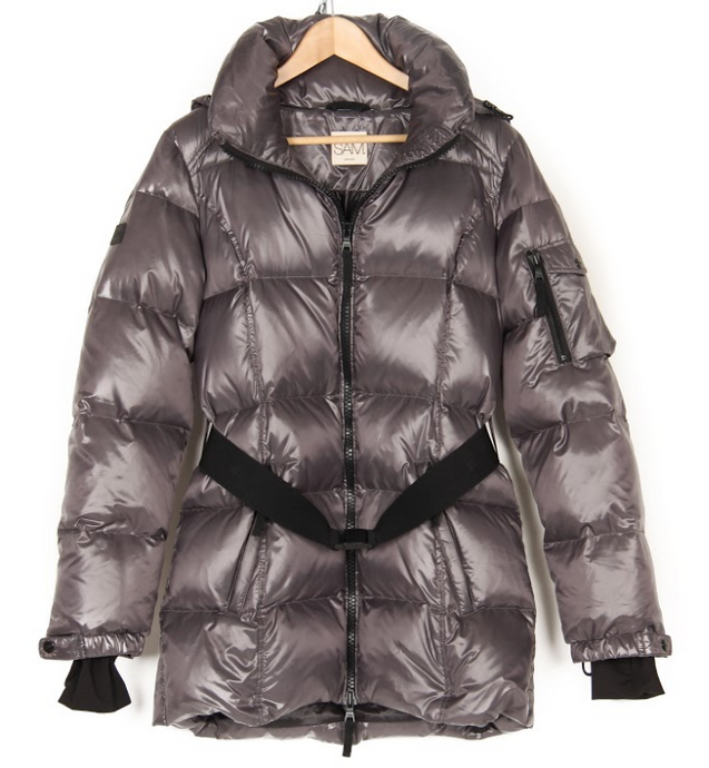 SAM. WOMAN'S SOHO PUFFER JACKET WITH BELT
