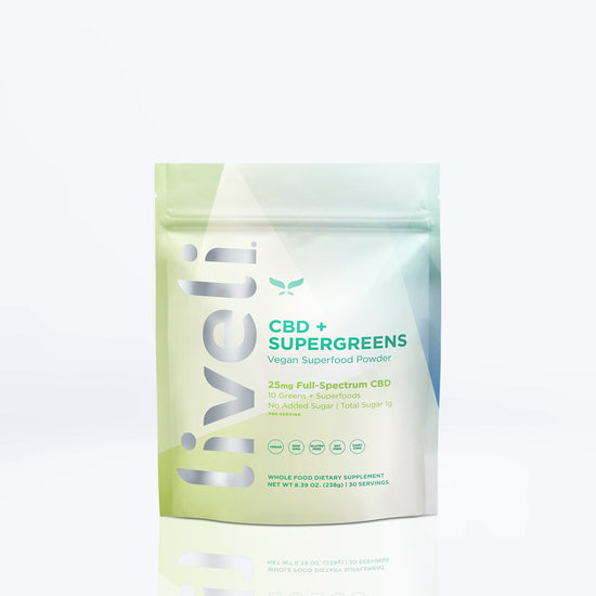 CBD + Supergreens - Liveli