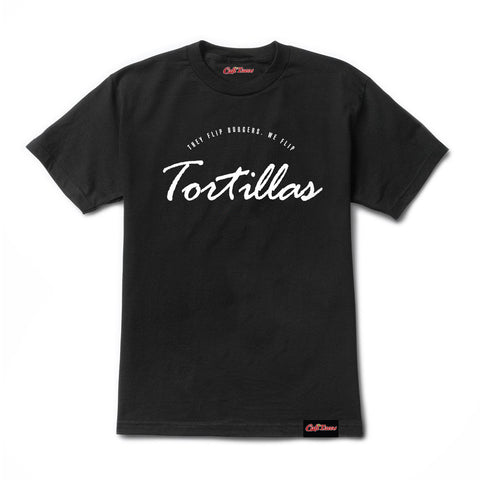 They Flip Burgers We Flip Tortillas Tee