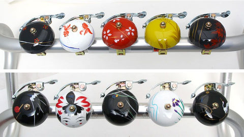 Suzu Hand Painted Bicycle Bell