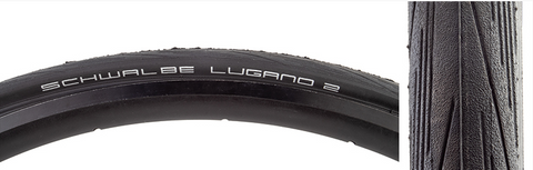 TIRES SCHWALBE LUGANO II ACTIVE LITE K-GUARD 700x28