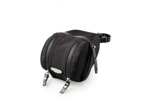 Brooks Isle Of Wight Saddle Bag - Large - Black/Black
