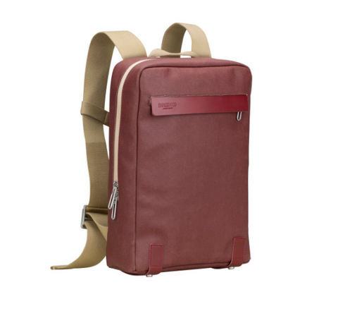Brooks Pickzip Backpack- Chianti/Maroon