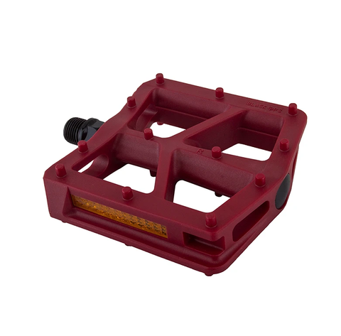 Black Ops T-Bar Pedals in Magenta