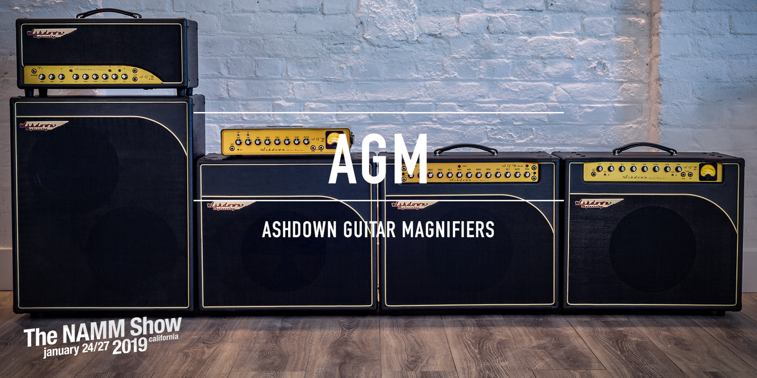 Ashdown Guitar Magnifiers - NEW 2019 Guitar Amps