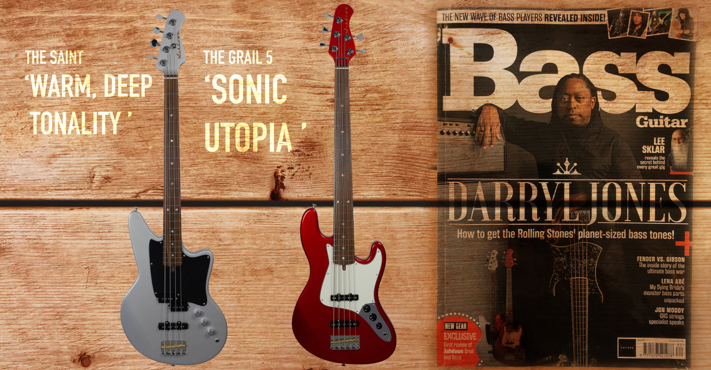 Our Basses reviewed...