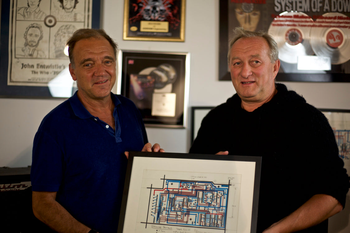 A lovely visit from Guy Pratt