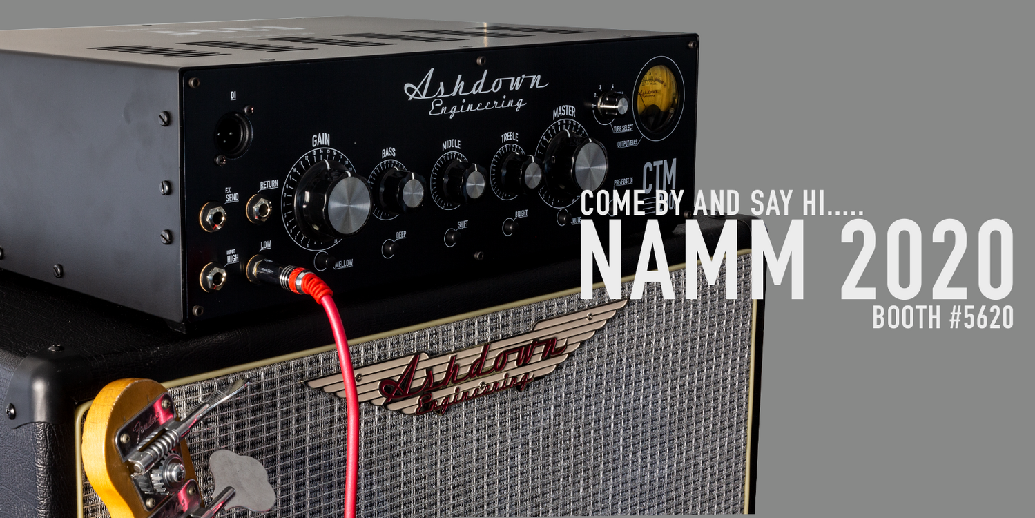 See us @ NAMM - Booth #5620